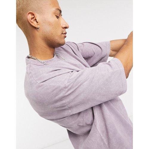 T-shirt oversize - Délavé pâle - ASOS DESIGN - Modalova