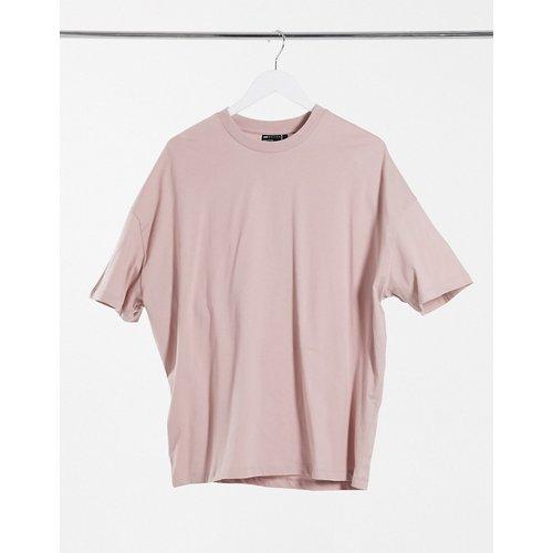 T-shirt oversize - Lilas - ASOS DESIGN - Modalova