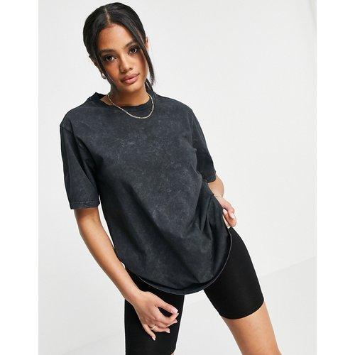 T-shirt oversize - Noir délavé - ASOS DESIGN - Modalova