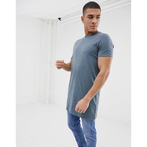 T-shirt ras de cou super long - ASOS DESIGN - Modalova