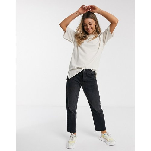 T-shirt ultra oversize à coutures apparentes - Taupe délavé - ASOS DESIGN - Modalova
