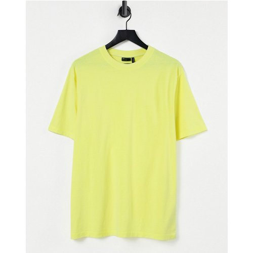 T-shirt ultra oversize - fluo délavé - ASOS DESIGN - Modalova