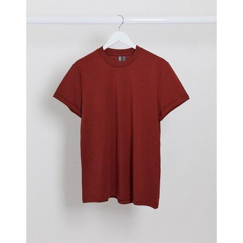 T-shirtà manches retroussées - ASOS DESIGN - Modalova