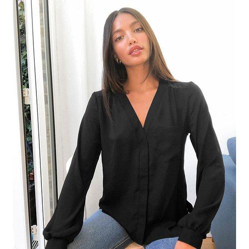 ASOS DESIGN Tall - Blouse à manches longues avec poche - ASOS Tall - Modalova