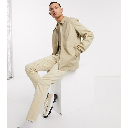 Tall - Blouson Harrington - Taupe - ASOS DESIGN - Modalova