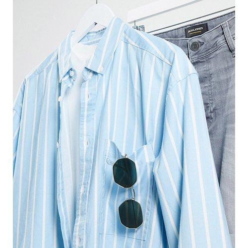 Tall - Chemise oversize style 90's à rayures Oxford - ASOS DESIGN - Modalova