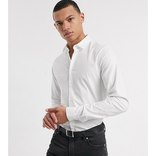Tall - Chemise oxford stretch ajustée - ASOS DESIGN - Modalova