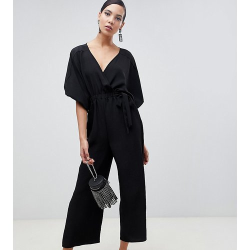ASOS DESIGN Tall - Combinaison cache-cœur à manches kimono et jupe-culotte - ASOS Tall - Modalova