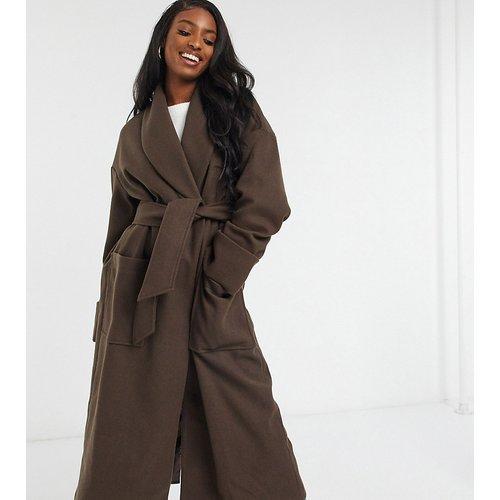 ASOS DESIGN Tall - Hero robe - Manteau avec ceinture - ASOS Tall - Modalova