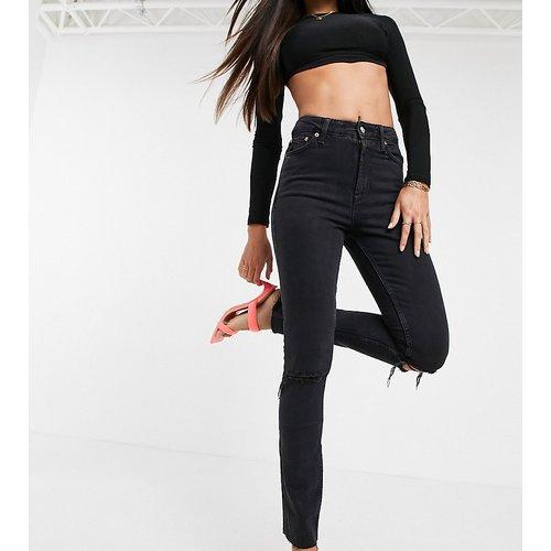 ASOS DESIGN Tall - Jean skinny vintage déchiré à taille mi-haute - délavé - ASOS Tall - Modalova