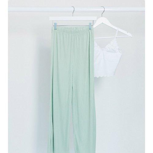 ASOS DESIGN Tall - Jupe-culotte plissée - sauge - ASOS Tall - Modalova