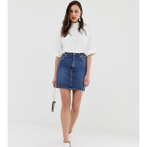 ASOS DESIGN Tall - Original - Mini-jupe en jean - ASOS Tall - Modalova