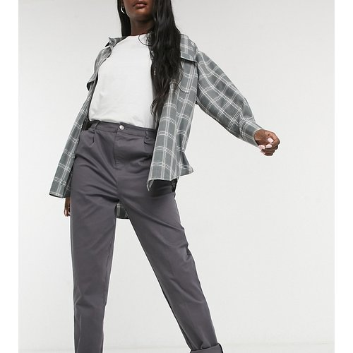 ASOS DESIGN Tall - Pantalon chino - Anthracite - ASOS Tall - Modalova