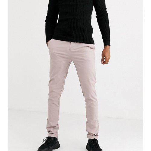 Tall - Pantalon chino skinny - chaud - ASOS DESIGN - Modalova