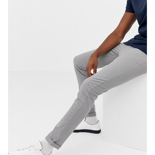 Tall - Pantalon chino slim - clair - ASOS DESIGN - Modalova