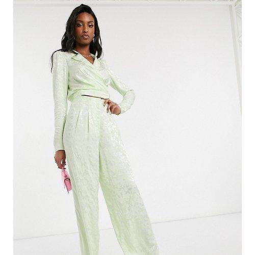 ASOS DESIGN Tall - Pantalon large en jacquard doux (ensemble) - ASOS Tall - Modalova