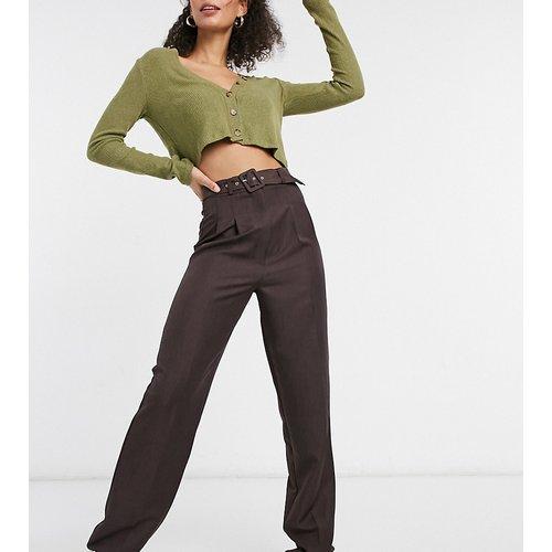 ASOS DESIGN Tall - Pantalon style dad ample avec ceinture - ASOS Tall - Modalova