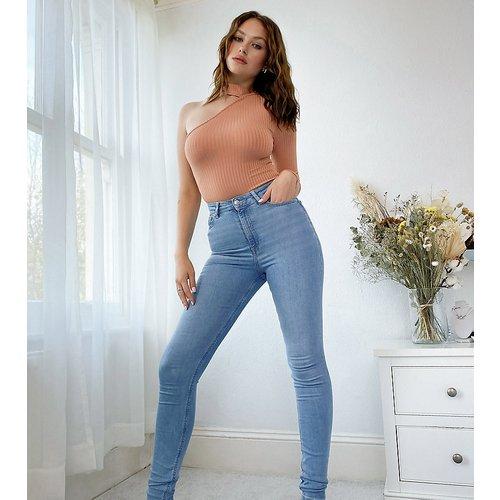 ASOS DESIGN Tall - Ridley - Jean skinny délavé taille haute - ASOS Tall - Modalova