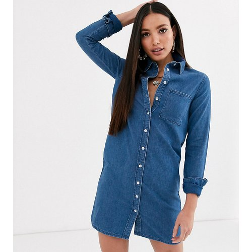 ASOS DESIGN Tall - Robe chemise en jean - ASOS Tall - Modalova