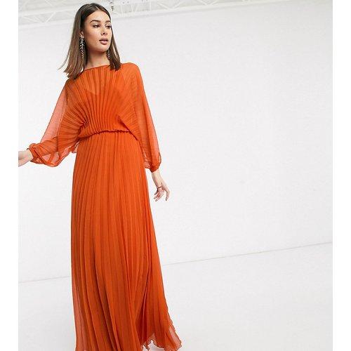 ASOS DESIGN Tall - Robe longue plissée avec ceinture à nouer - ASOS Tall - Modalova