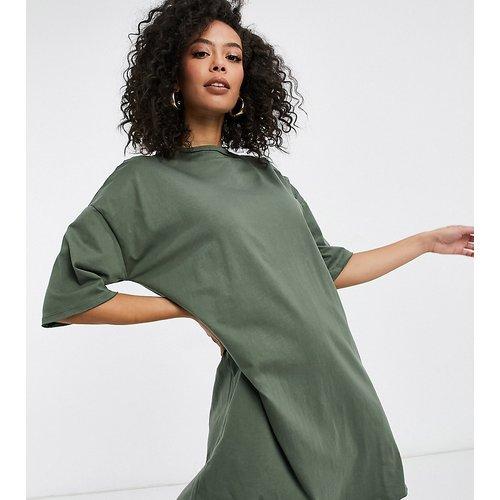 ASOS DESIGN Tall - Robe t-shirt - Kaki - ASOS Tall - Modalova