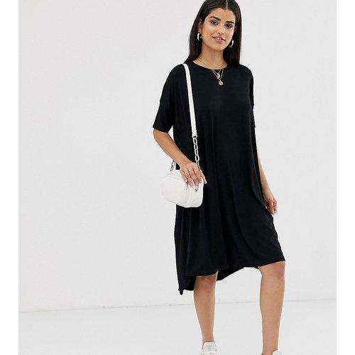 ASOS DESIGN Tall - Robe t-shirt oversize à ourlet plongeant - ASOS Tall - Modalova