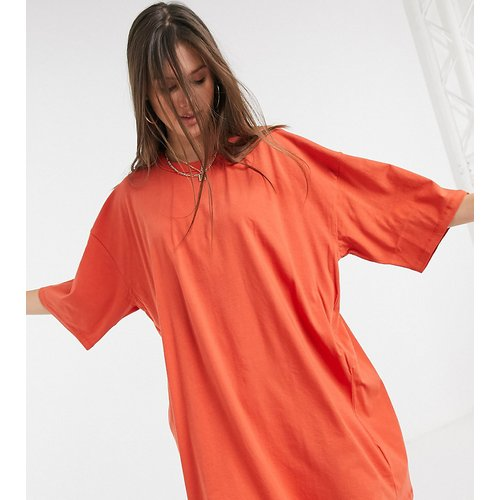 ASOS DESIGN Tall - Robe t-shirt oversize - brûlé - ASOS Tall - Modalova