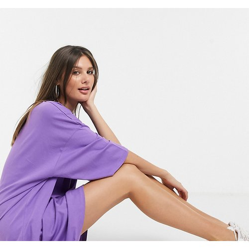 ASOS DESIGN Tall -Robe t-shirt oversize - foncé - ASOS Tall - Modalova