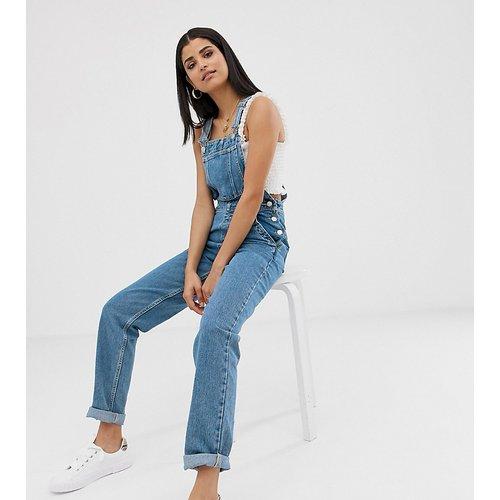 ASOS DESIGN Tall - Salopette en jean - délavé moyen - ASOS Tall - Modalova