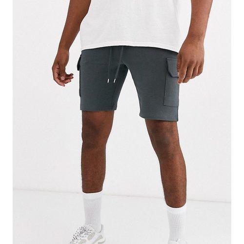 Tall - Short skinny en jersey avec poches cargo - foncé - ASOS DESIGN - Modalova