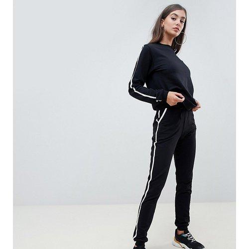 ASOS DESIGN Tall - Survêtement à bandes contrastantes avec sweat-shirt et jogger basique noué - ASOS Tall - Modalova