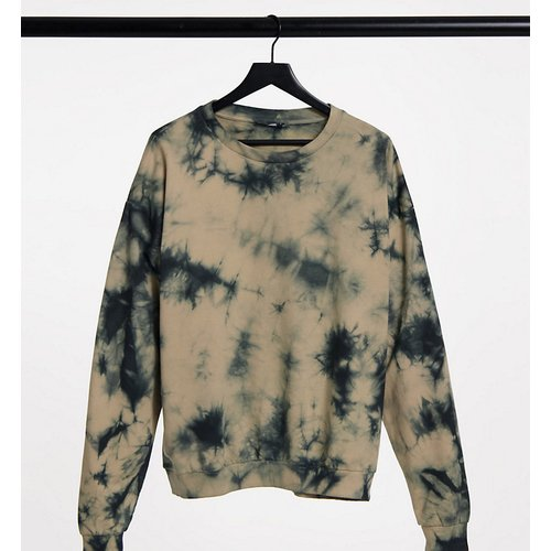 ASOS DESIGN Tall - Sweat-shirt d'ensemble à imprimé effet tie-dye - ASOS Tall - Modalova