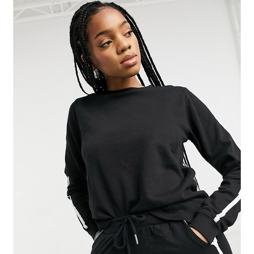 ASOS DESIGN Tall - Sweat-shirt et jogger basique en coton biologique à renforts contrastants - ASOS Tall - Modalova