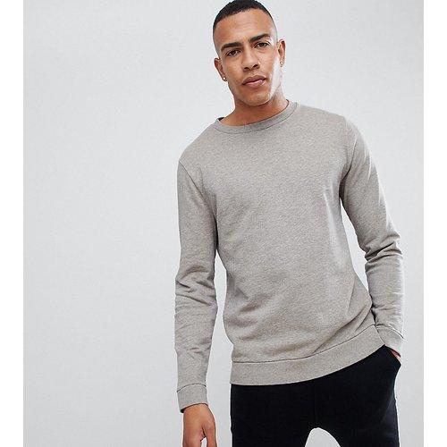 Tall - Sweat-shirt surteint - chiné - ASOS DESIGN - Modalova