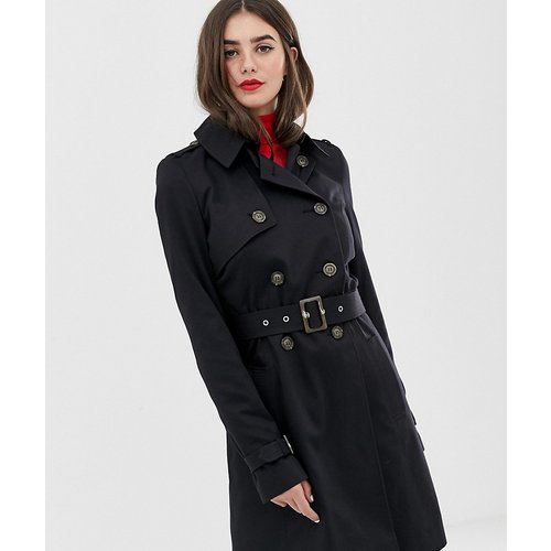 ASOS DESIGN Tall - Trench-coat-Noir - ASOS Tall - Modalova