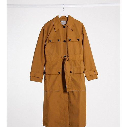 ASOS DESIGN Tall - Trench-coat à quatre poches - Ocre - ASOS Tall - Modalova