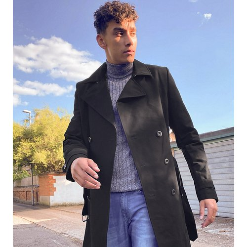 Tall - Trench-coat imperméable coupe croisée - ASOS DESIGN - Modalova