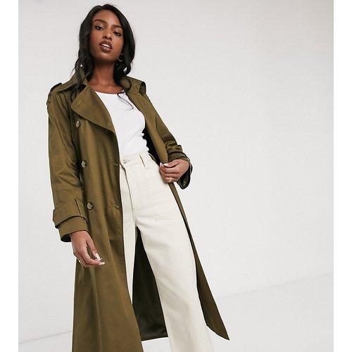 ASOS DESIGN Tall - Trench-coat long - Kaki - ASOS Tall - Modalova