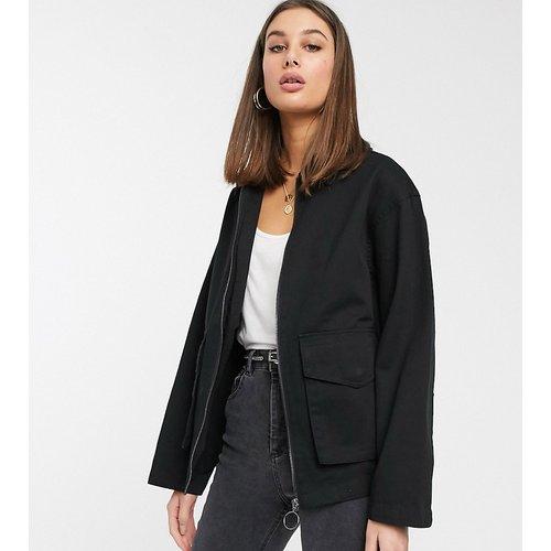 ASOS DESIGN Tall - Veste style chemise en coton avec poches - ASOS Tall - Modalova