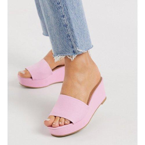 Tazlin - Chaussures semi-compensées pointure large - ASOS DESIGN - Modalova