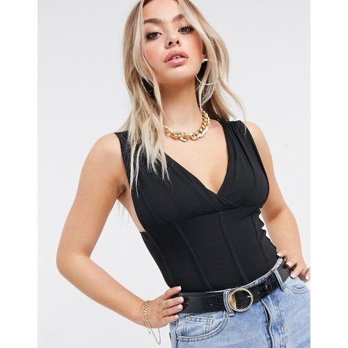 Top cache-cœur style corset - ASOS DESIGN - Modalova