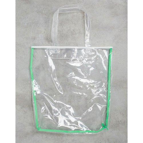 Tote bag en plastique - Transparent - ASOS DESIGN - Modalova