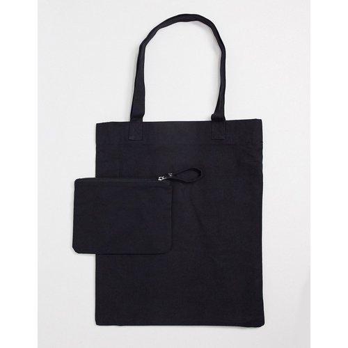 Tote bag en toile avec pochette amovible - ASOS DESIGN - Modalova