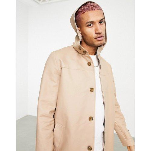 Trench-coat à capuche imperméable - ASOS DESIGN - Modalova