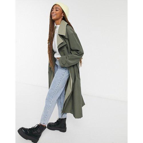 Trench-coat double épaisseur - ASOS DESIGN - Modalova