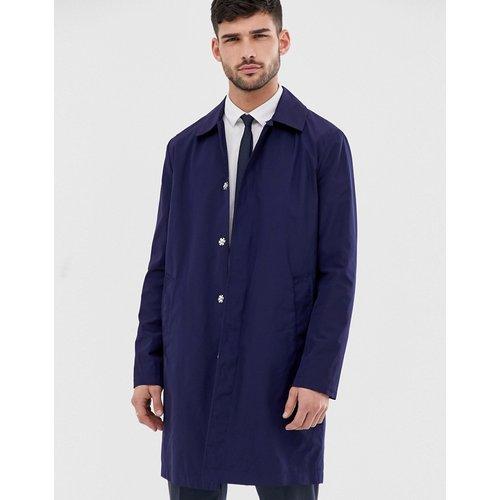 Trench-coat imperméable - Bleu marine - ASOS DESIGN - Modalova