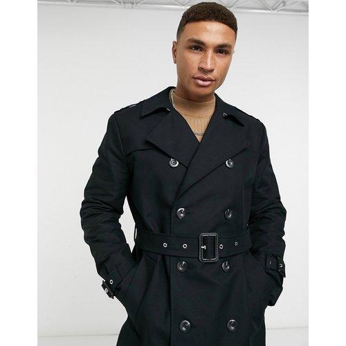 Trench-coat imperméable coupe longue avec ceinture - ASOS DESIGN - Modalova