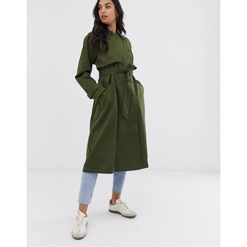 ASOS DESIGN - Trench-coat long-Vert - ASOS DESIGN - Modalova