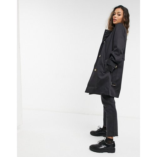 ASOS DESIGN - Trench-coat - Noir - ASOS DESIGN - Modalova