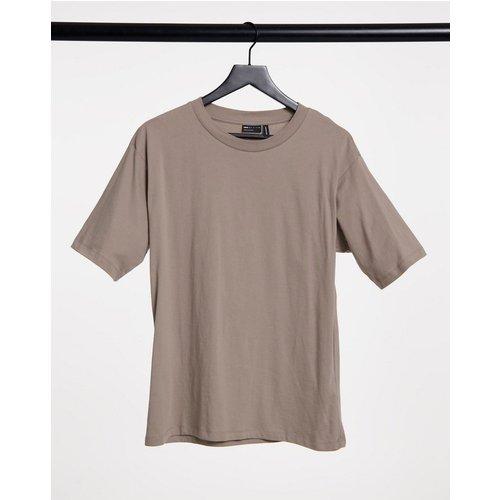 Ultimate - T-shirt oversize - Taupe - ASOS DESIGN - Modalova